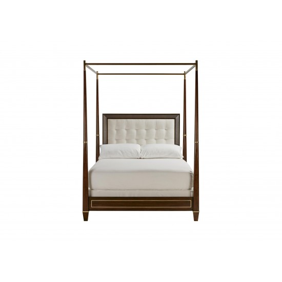 Andover Upholstered Poster Bed