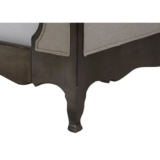 Beau Bed with Tall Footboard