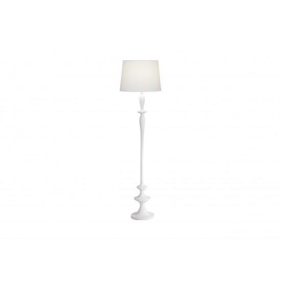 Claire Gesso Floor Lamp