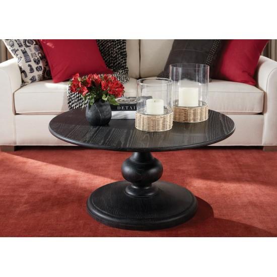 Alcott Pedestal Coffee Table