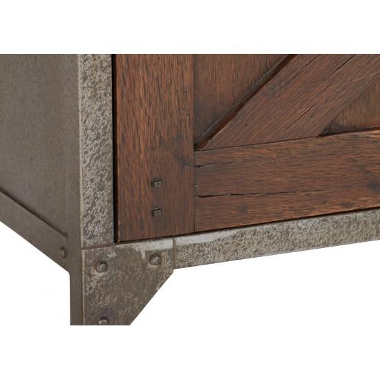 Delmar Wood Door Cabinet